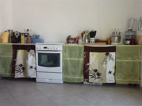 rideaux pour placard de chambre des portes en tissu pour les placards de la cuisine