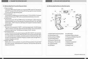 Planttours Communications Pt1000 Wireless Guide System
