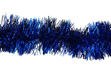christmas tinsel in 9 different colours red blue gold