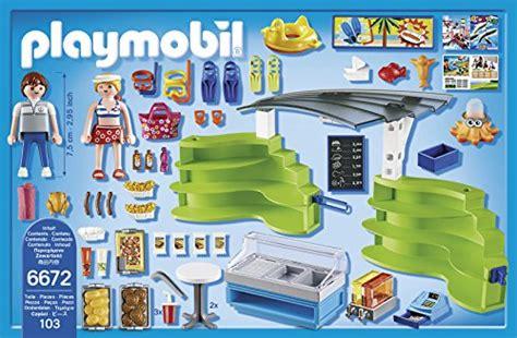 6672espace Boutique Et Fastfood De Playmobil