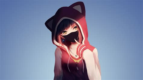 Girly Anime Wallpaper - hoodie anime wallpapers hd wallpapers id 23896