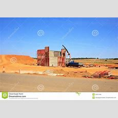 Construction Site In Spanish Countryside Royalty Free Stock Image  Image 34231456