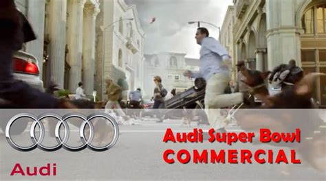 audi commercial super bowl super bowl commercial 2014 audi doberhuahua