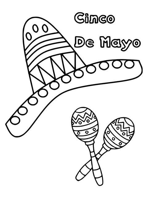 cinco de mayo colors cinco de mayo coloring pages best coloring pages for