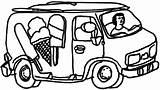Ice Cream Coloring Truck Drawing Printable Parlor Getcolorings Getdrawings Template Popular Sketch Coloringhome sketch template