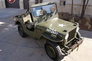 1950 Jeep Willys Cj3a For Sale