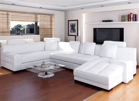 awesome modern luxury white leather sofa designoursign