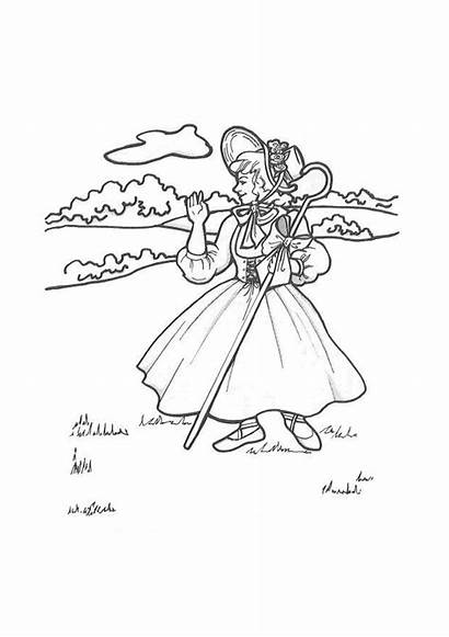 Nursery Rhymes Coloring Printable Sheets Draw Activity