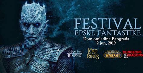 "10. Festival epske fantastike posvećen ""Igri prestola ..."