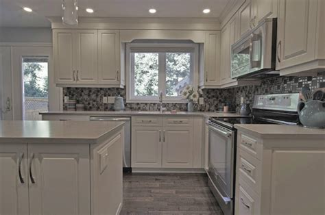 Off white kitchen cabinets   new kitchen delivers more