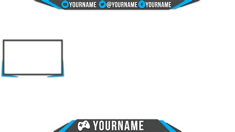 obs overlay template overlay by fifigrafika on deviantart