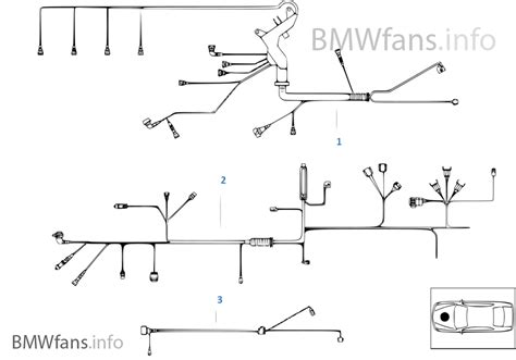 engine wiring harness bmw 3 e46 318i m43 europe