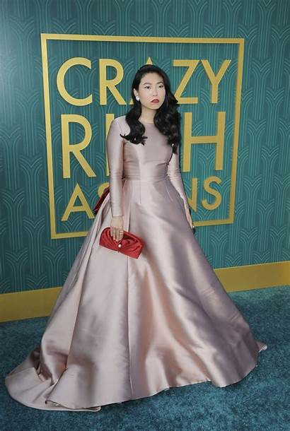 Awkwafina Rich Crazy Asians Premiere Angeles Los