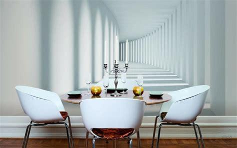farbmuster wohnzimmer wandgestaltung mit fototapeten