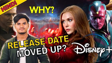 After years spent playing supporting roles, vision and the scarlet witch are finally getting the spotlight in wandavision, an upcoming show on the disney+ streaming service. WandaVision Release Date Moved up | Why? | Explained in ...
