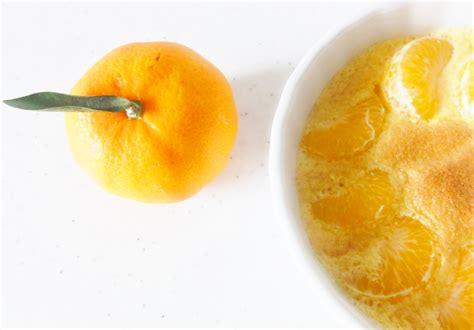 dessert a la clementine gratin de cl 233 mentines aux fourneaux