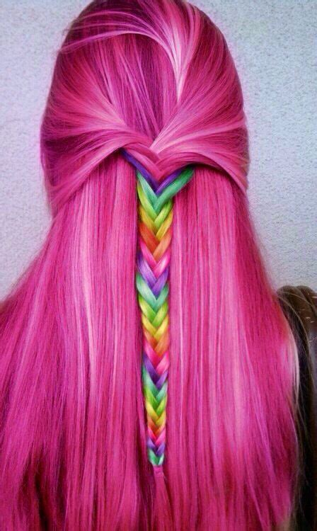 2014 Hot Ombreand Highlights Trend 30 Rainbow Colored