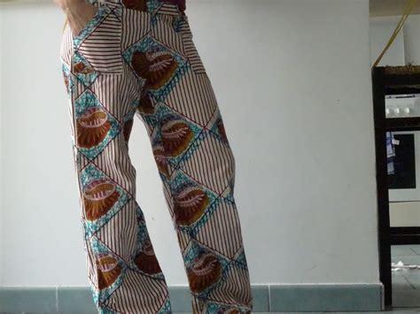 pantalon en tissus africain ofildumonde