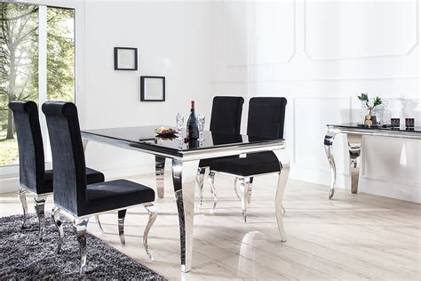 Barock Modern by Monumentaler Esstisch Modern Barock Silber 200 Cm