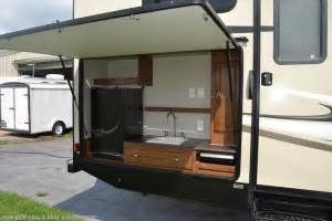 top 5 best travel trailers w outdoor kitchens rvingplanet