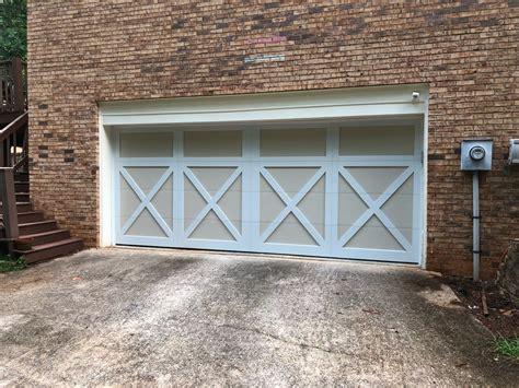 Barn Garage Door by Carriage Barn Style Garage Door No Windows Roswell Ga