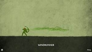 Dota 2 - Windrunner Wallpaper by sheron1030 on DeviantArt