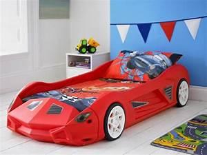Parure De Lit Enfant Garcon : le lit voiture pour la chambre de votre enfant ~ Teatrodelosmanantiales.com Idées de Décoration