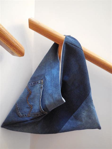 denim triangle bag pattern favequiltscom