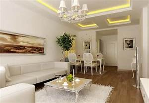 Living room and dining room ceiling light design image for Interior ceiling design for living room