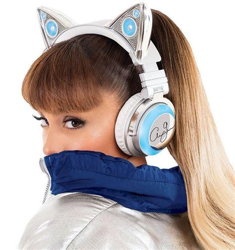 ariana grande light up cat ears ariana grande wireless bluetooth cat ear headphones