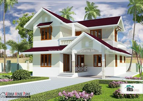 kerala model house plans  sq ft