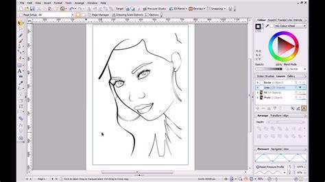 serif drawplus  tutorial   pencil drawing youtube
