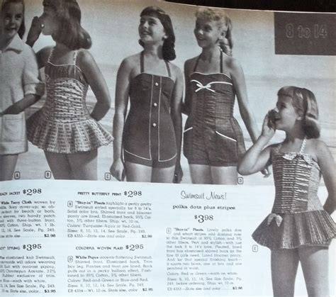 Swimwear For Girls Teens And Ladies 1960 Carla At Home