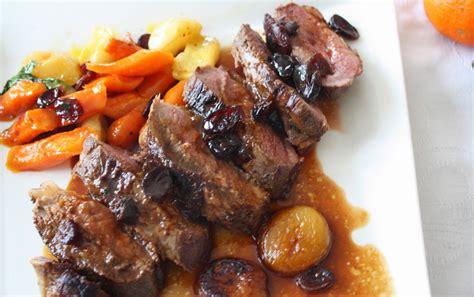 magret de canard  carottes au miel recettes cookeo