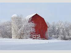 Michigan Nut Photography Old Barns & Log Cabins Snow