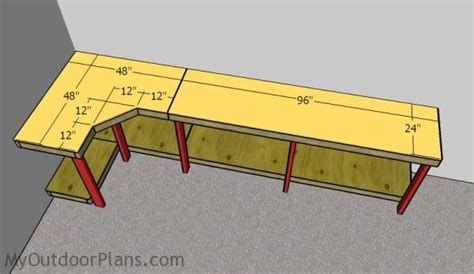 garage workbench plans myoutdoorplans  woodworking