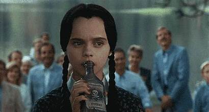 Addams Wednesday Poison Gifs Unaware Tonight Things