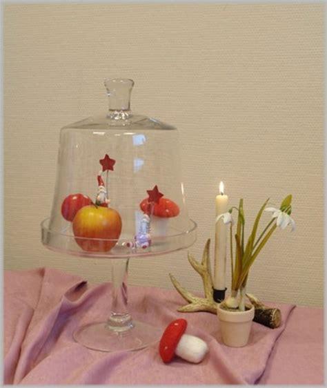 etagere mit deckel gro 223 es glasplateau mit haube glas klar impressionen etagere mit deckel k 252 che h45 ebay