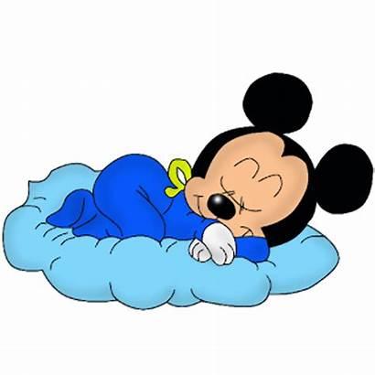 Mickey Mouse Clipart Disney Sleeping Cartoon Sleep