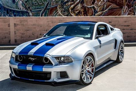 speed ford mustang  debut  fundraiser
