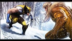 Wolverine, Marvel, Superhero, F, Wallpaper