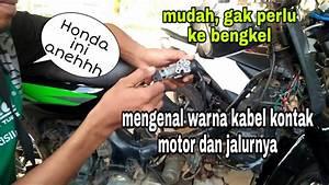 Jalur Dan Warna Kabel Kunci Kontak Honda Grand
