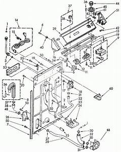 Kenmore 500 Washer Parts Diagram