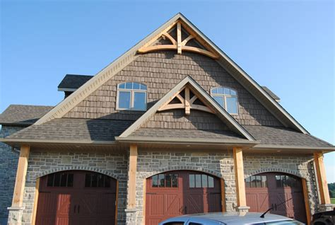 rustic wood trim gable overhead truss systems amherst mouldings