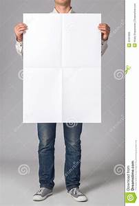 Blank Poster Stock Photo - Image: 43451836