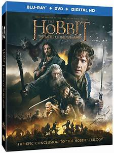 The Hobbit: The Battle of the Five Armies DVD/Blu-ray ...