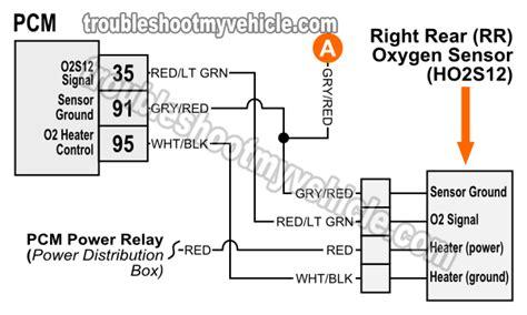 O2 Wiring Diagram by Oxygen O2 Sensor Wiring Diagrams 1997 4 6l F150 F250