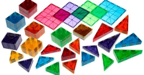Magna Tiles Clear Colors 74 Piece Set by Daily Cheapskate Black Friday Mega Deal 100 Piece Magna