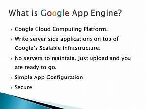 Basic Google App Engine Details