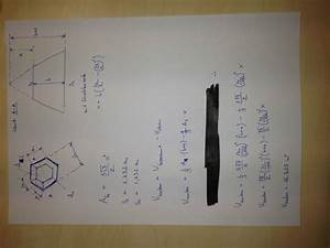 Sechskant Berechnen : konischer sechskant volumen mathelounge ~ Themetempest.com Abrechnung